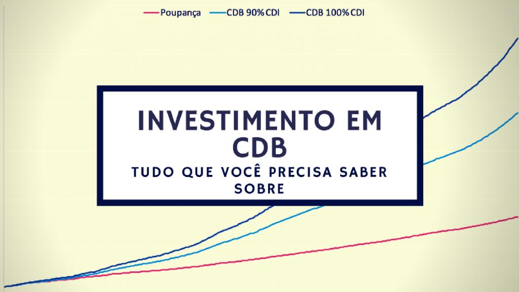 investimento cdb