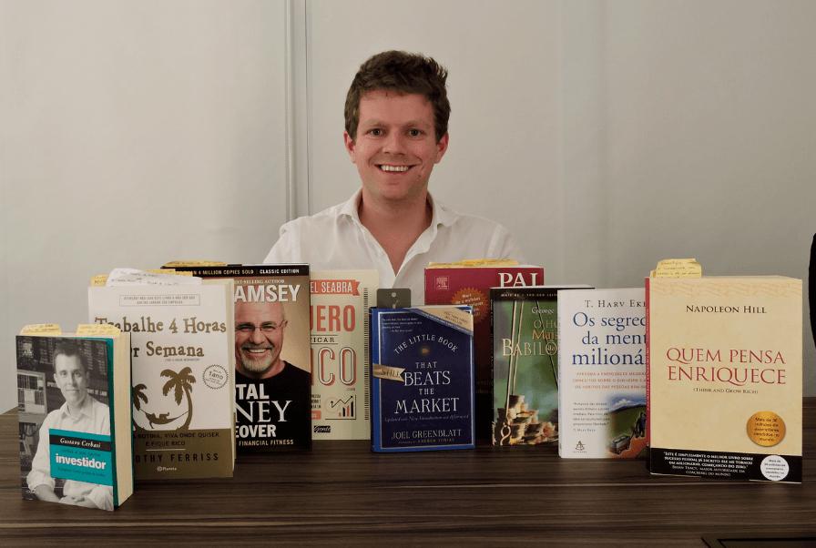 livros educação financeira e finanças pessoais