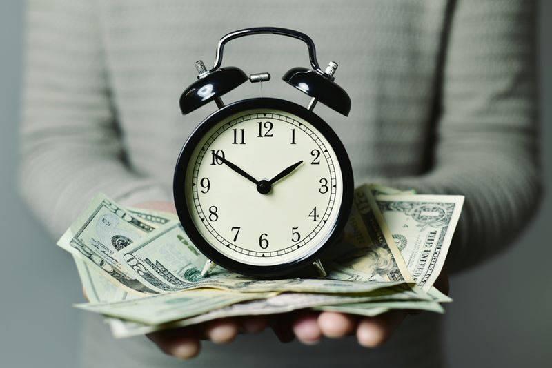 Tempo é dinheiro?
