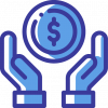 ícone de investimentos