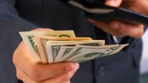 dinheiro da carteira